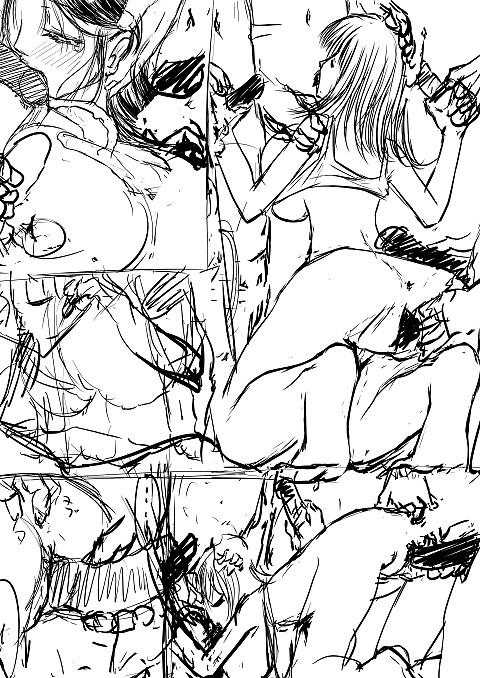漫画家の文々先生進捗74